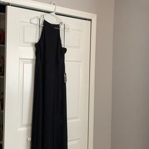 Express long black dress